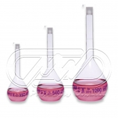 Volumetric flask with poly stopper Class A